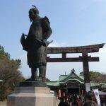 豊国神社と豊臣秀吉像