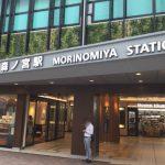 JR森ノ宮駅北口