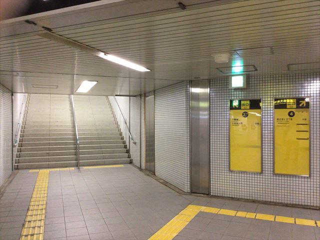 大阪市営地下鉄「森ノ宮駅」3-B出口