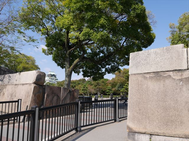 大阪城玉造口