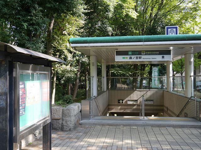 大阪市営地下鉄「森ノ宮駅」1番出口