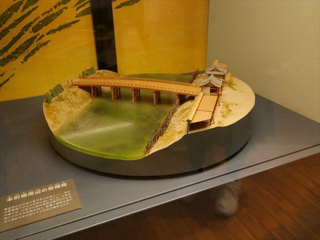 大阪城天守閣、本町橋周辺の惣構堀