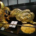 大坂城天守閣、鯱、虎など
