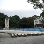 大阪城野外音楽堂の座席(椅子席)の様子