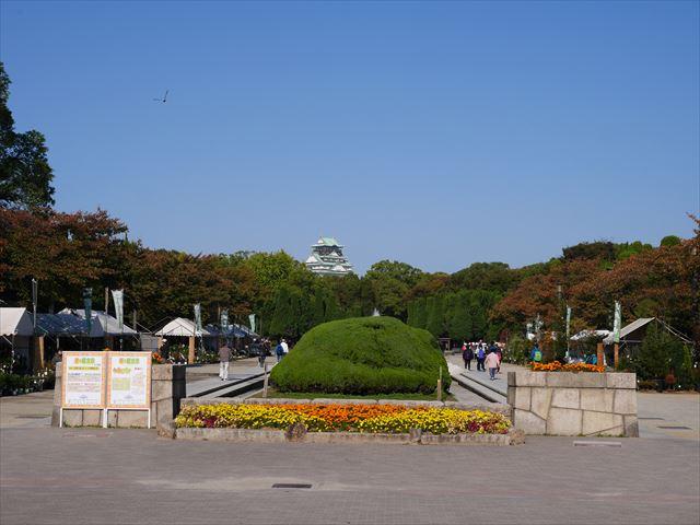 大阪城公園「森ノ宮駅より」