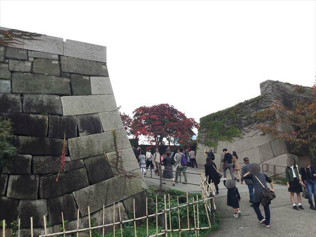 大阪城・石垣