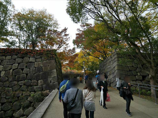 大阪城・青屋門