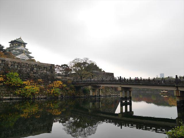 大阪城と極楽橋