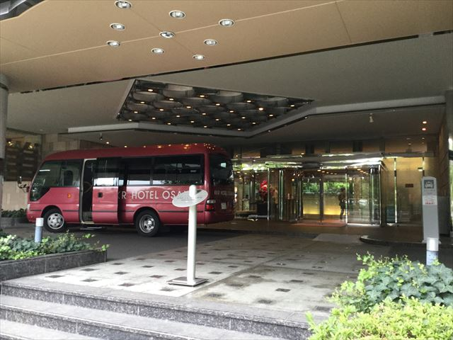 「KKRホテル大阪」前