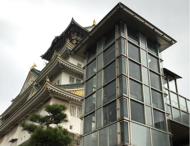 大阪城天守閣に設置されているエレベーター