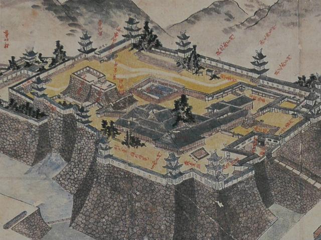 徳川幕府時代の大阪城