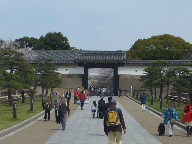 大阪城「大手門」