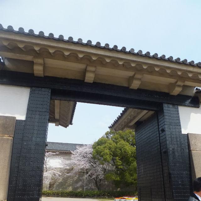 大阪城大手門