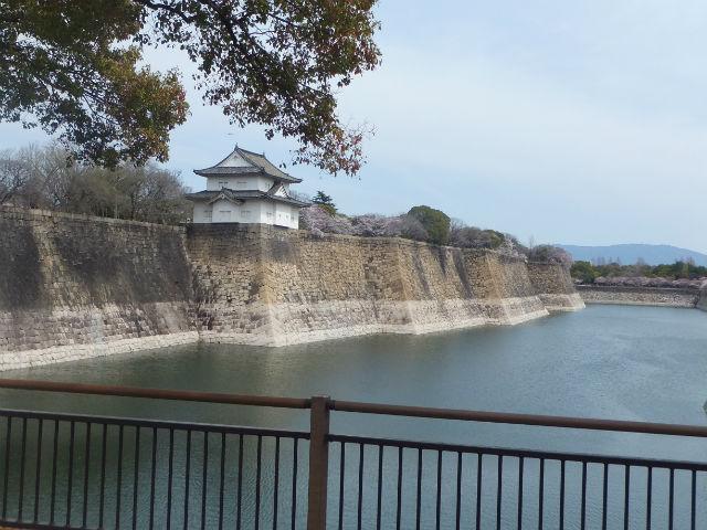 大阪城「六番櫓」と南外堀