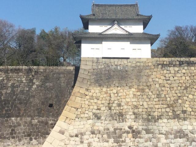 大阪城「六番櫓」と謎の抜け穴