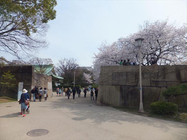 大阪城の太鼓櫓跡