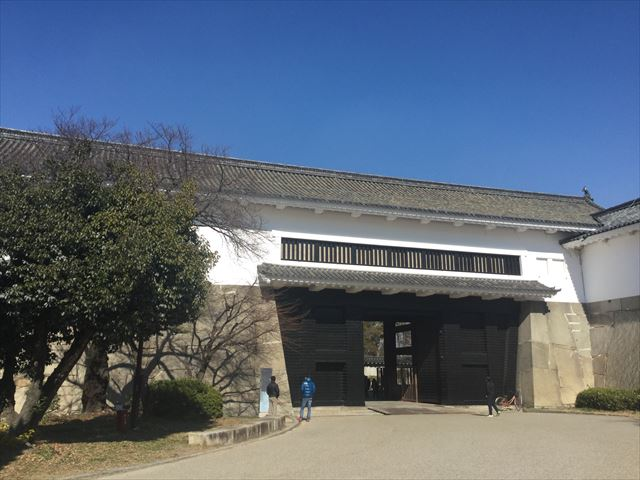 大阪城「多聞櫓」渡櫓