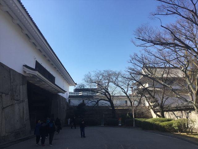 大阪城「多聞櫓」と「千貫櫓」