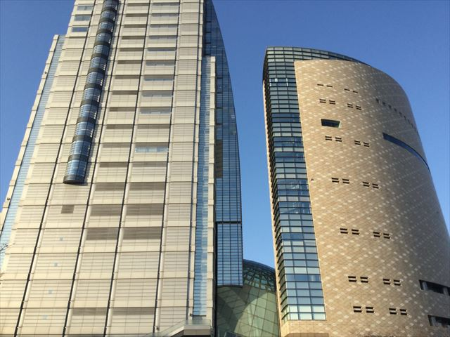 NHK大阪放送局と大阪歴史博物館