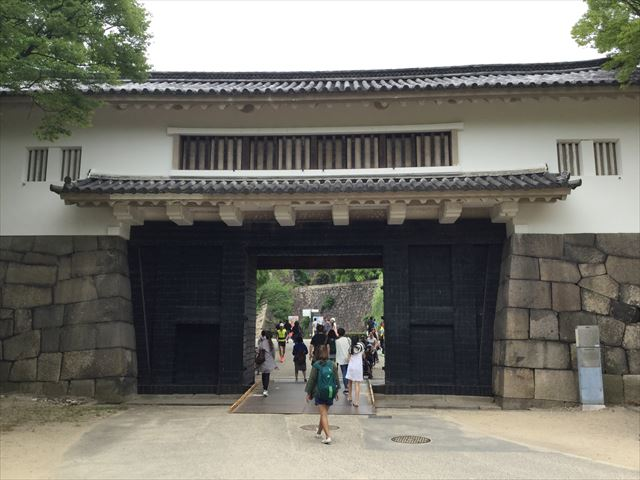 大阪城「青屋門」