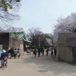 大阪城「太鼓櫓跡」
