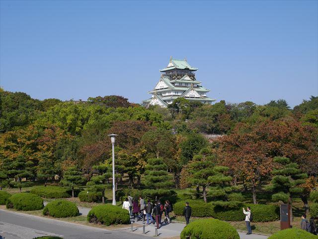 玉造口の石段を上ってみた大阪城