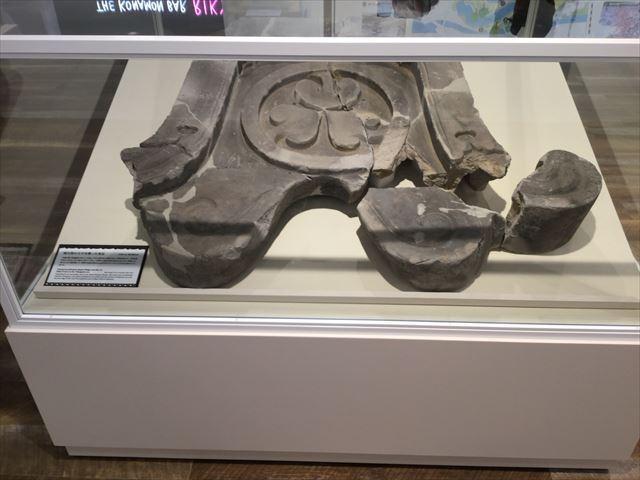ジョーテラスオオサカ、展示「徳川期の天守を飾った鬼瓦」