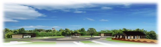 大阪城公園、森之宮付近施設(子供の遊び場、カフェ、ベーカリーショップ)イメージ