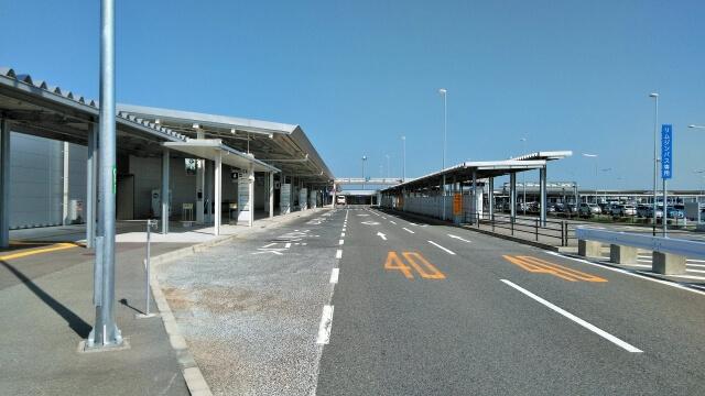 関西国際空港の空港リムジンバス乗り場