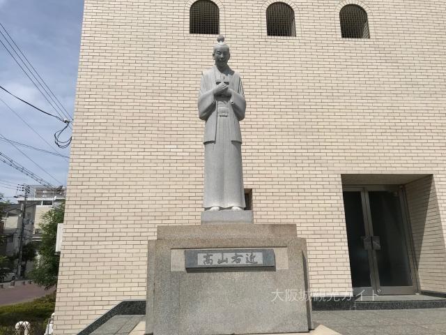 「聖マリア大聖堂カトリック玉造教会」高山右近像