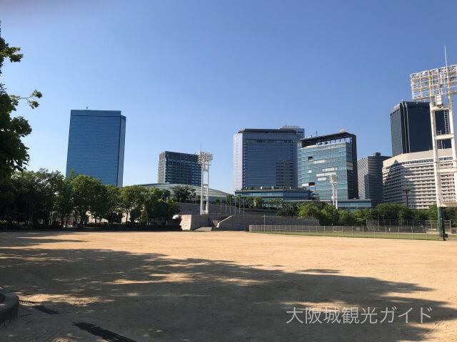 大阪城公園「太陽の広場」